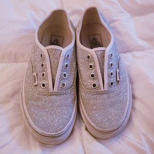 RARE Silver Glitter [Vans]